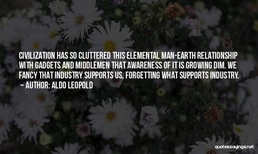 Forgetting Past Relationship Quotes By Aldo Leopold