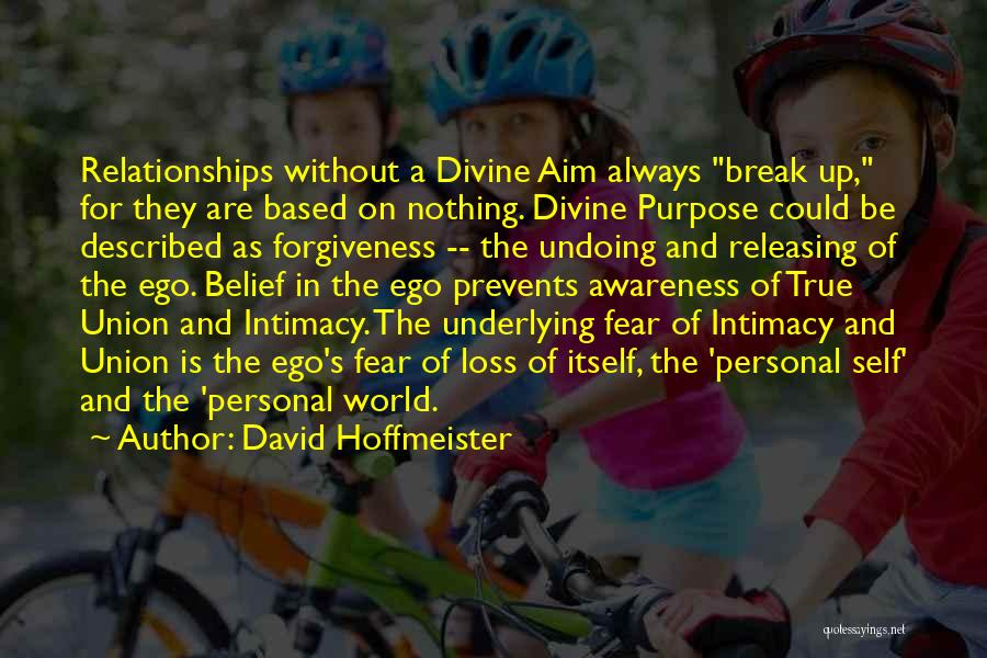 Forgiveness In Relationships Quotes By David Hoffmeister