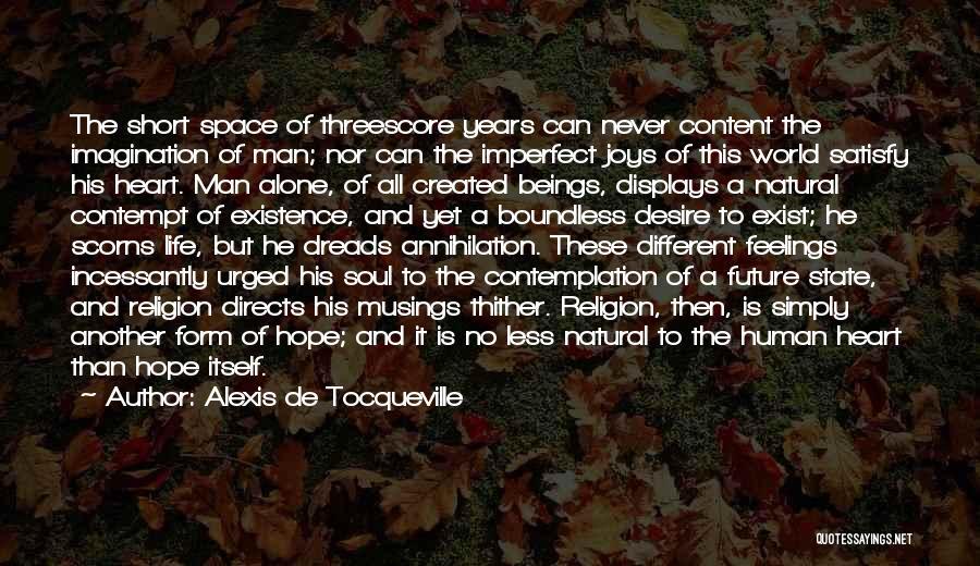 Form Content Quotes By Alexis De Tocqueville