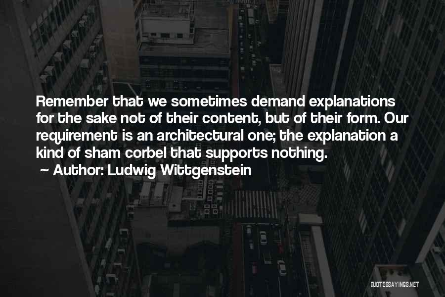 Form Content Quotes By Ludwig Wittgenstein