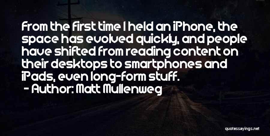 Form Content Quotes By Matt Mullenweg