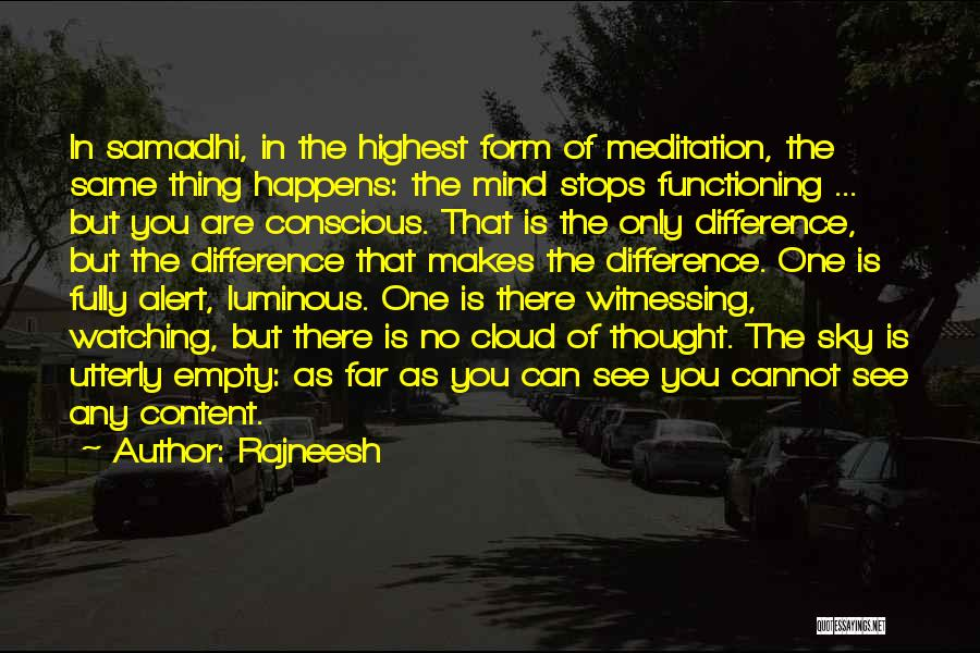 Form Content Quotes By Rajneesh