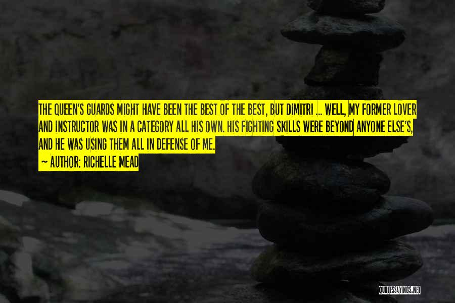 Former Lover Quotes By Richelle Mead