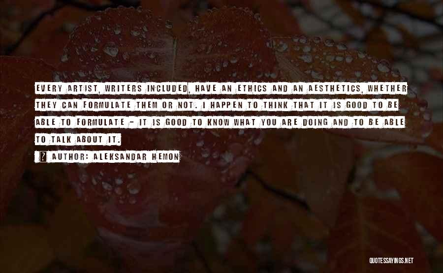 Formulate Quotes By Aleksandar Hemon