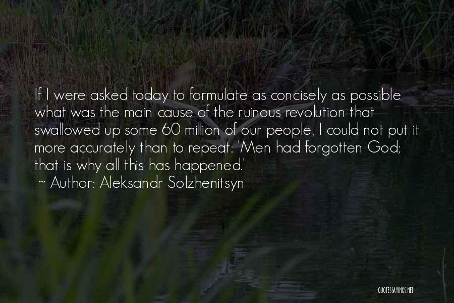 Formulate Quotes By Aleksandr Solzhenitsyn