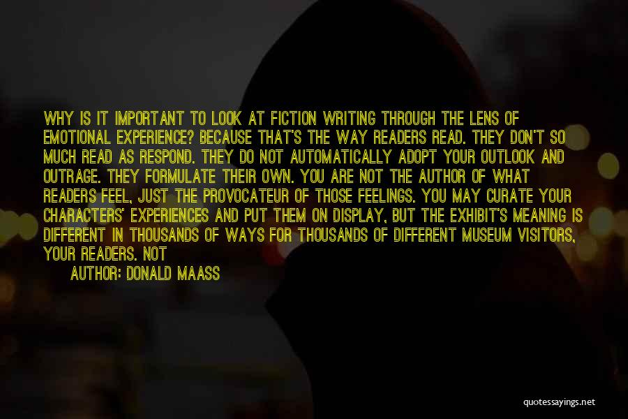 Formulate Quotes By Donald Maass