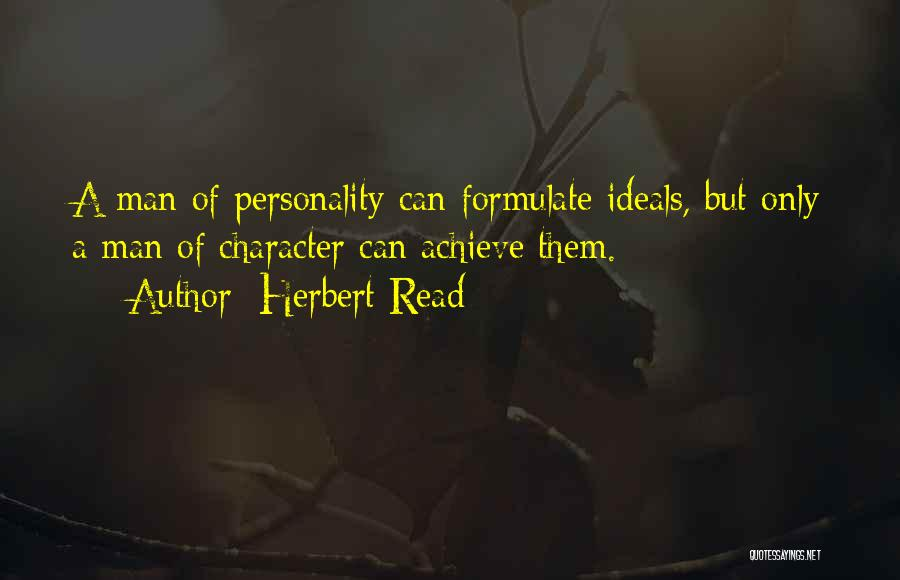 Formulate Quotes By Herbert Read