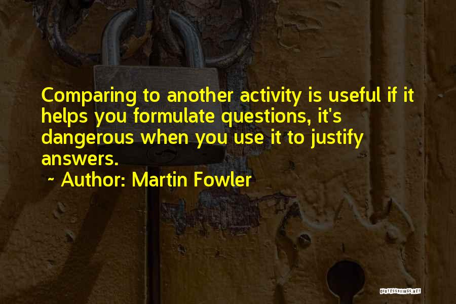 Formulate Quotes By Martin Fowler