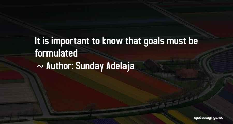 Formulate Quotes By Sunday Adelaja