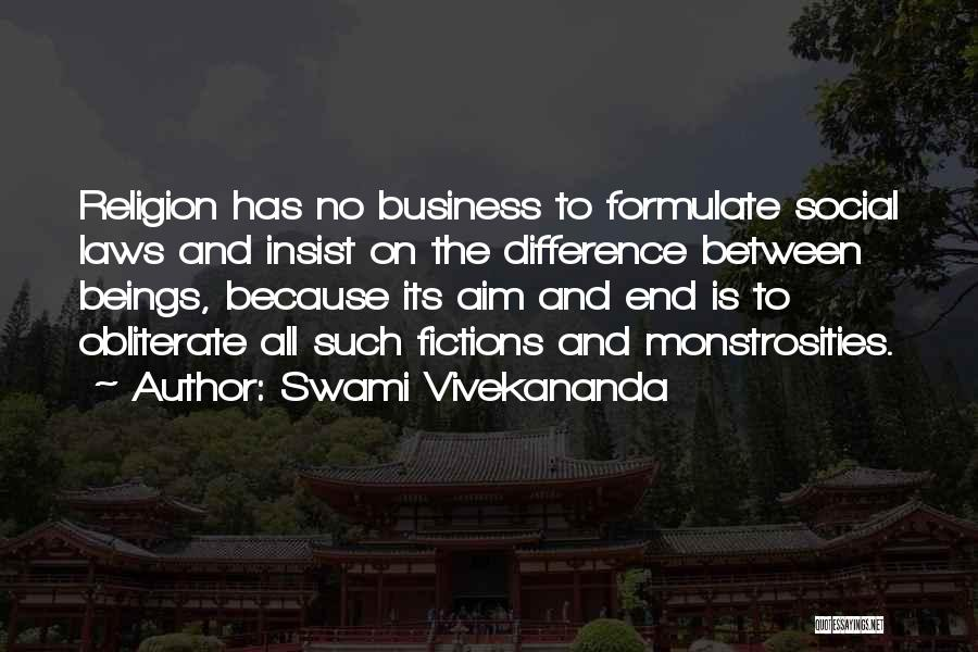 Formulate Quotes By Swami Vivekananda