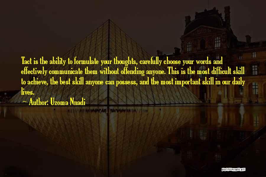 Formulate Quotes By Uzoma Nnadi