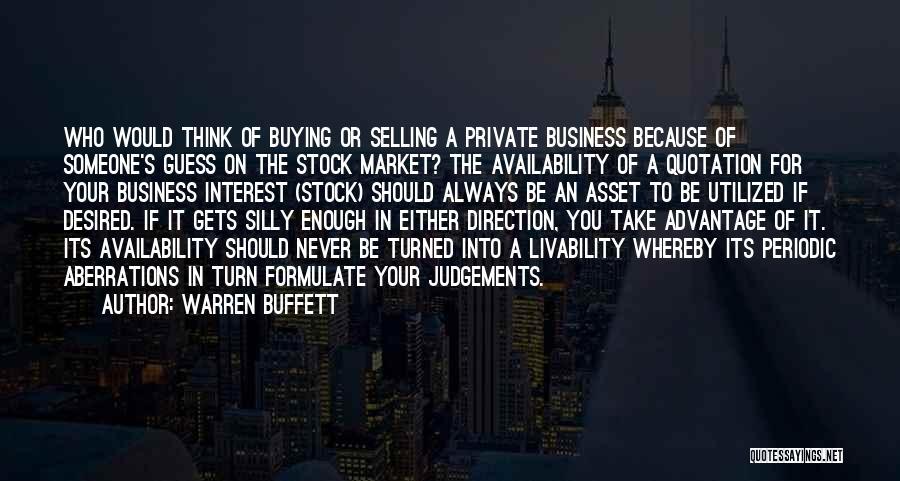 Formulate Quotes By Warren Buffett