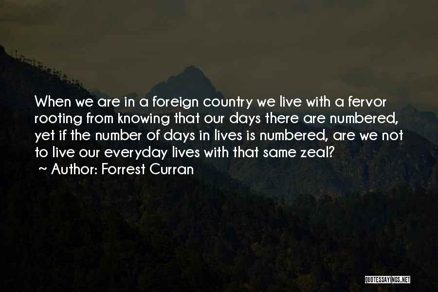 Forrest Curran Quotes 1266006