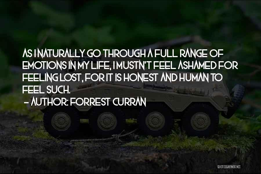 Forrest Curran Quotes 1271642