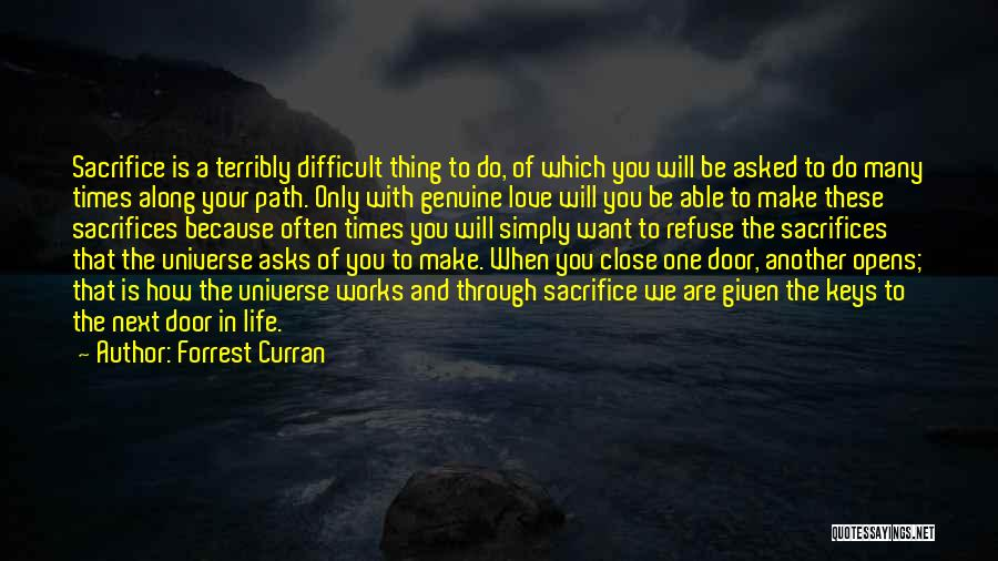 Forrest Curran Quotes 2055747