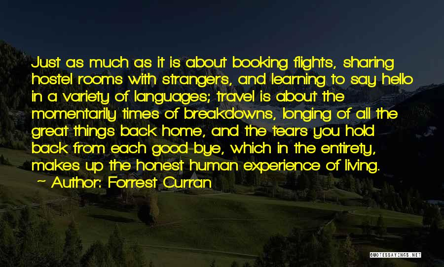 Forrest Curran Quotes 464359