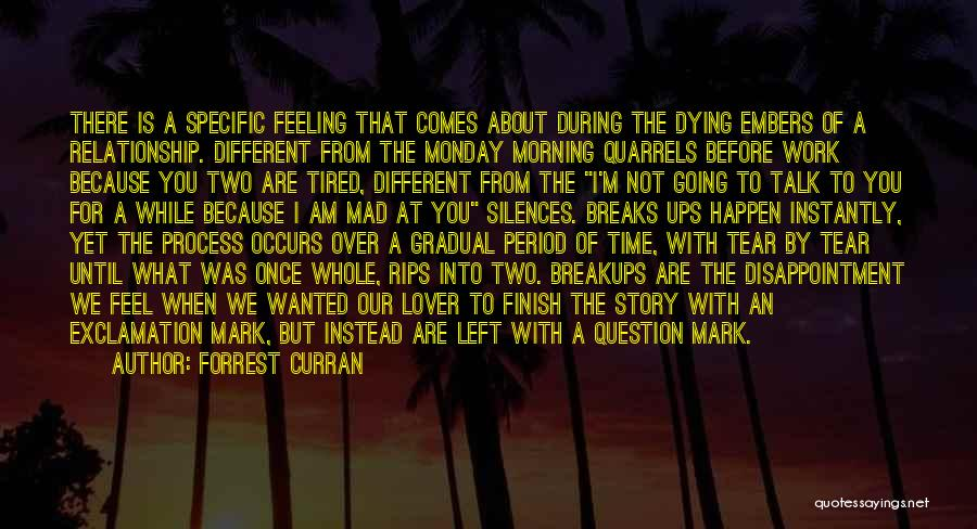 Forrest Curran Quotes 771901