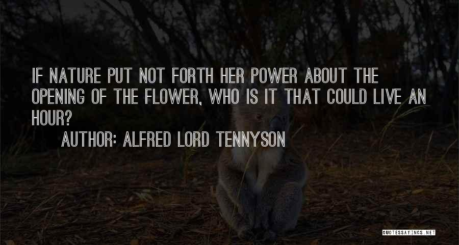 Forth Quotes By Alfred Lord Tennyson