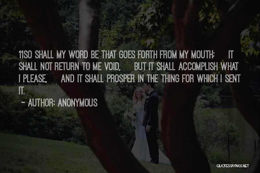 Forth Quotes By Anonymous
