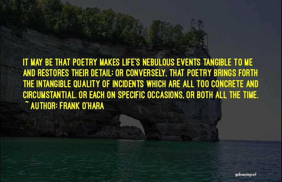 Forth Quotes By Frank O'Hara