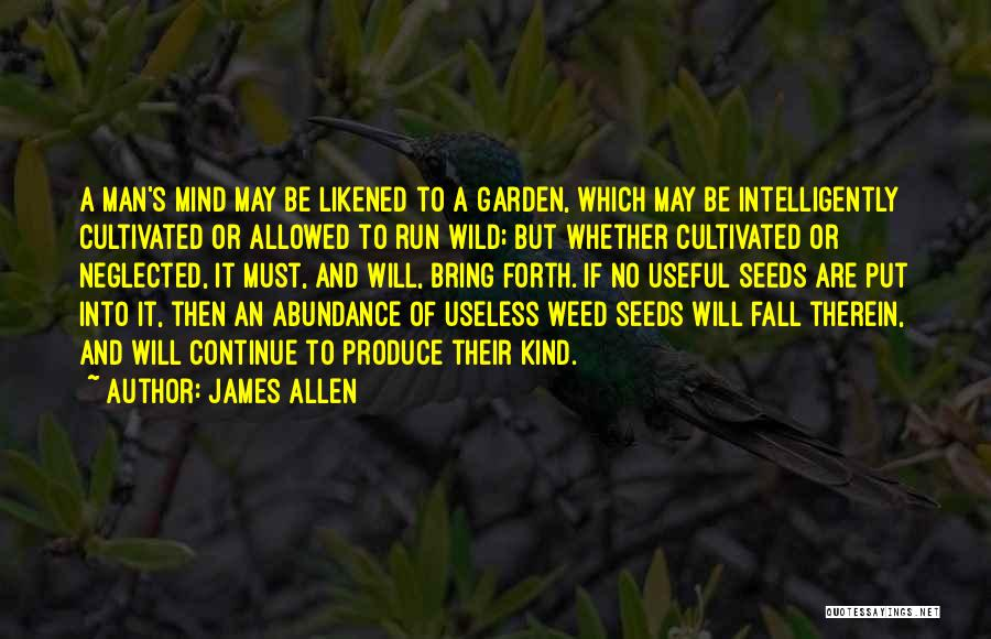 Forth Quotes By James Allen