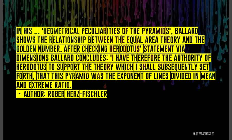 Forth Quotes By Roger Herz-Fischler