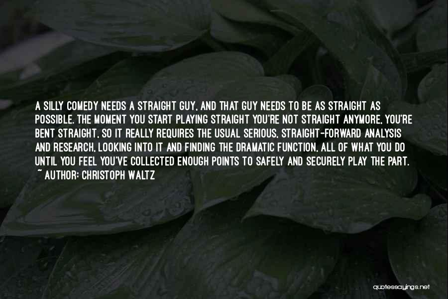 Forward Points Quotes By Christoph Waltz