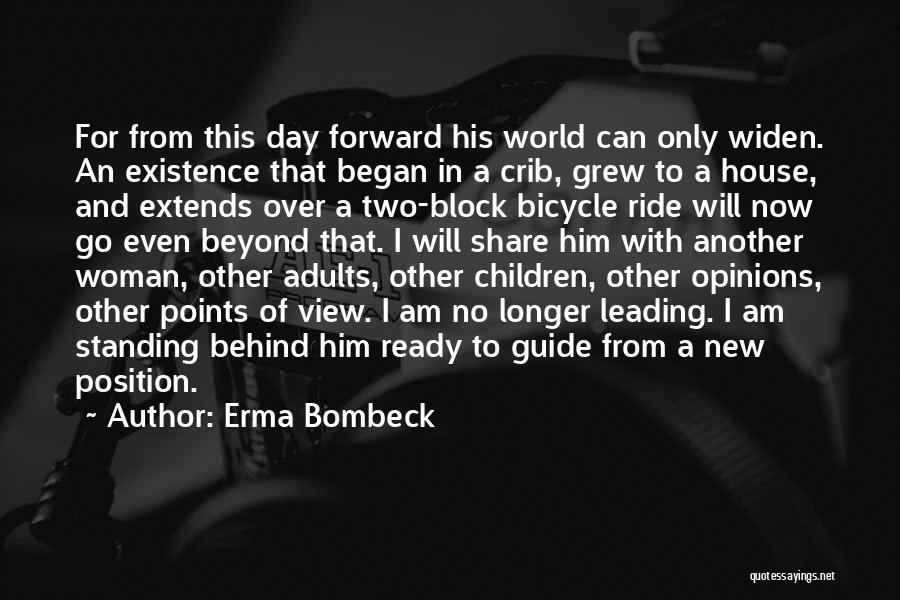 Forward Points Quotes By Erma Bombeck