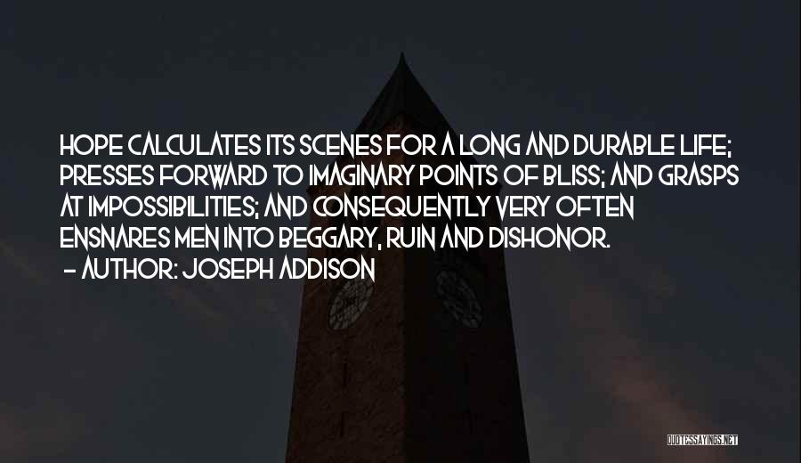 Forward Points Quotes By Joseph Addison