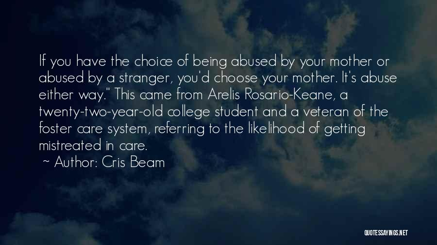 Foster Care System Quotes By Cris Beam