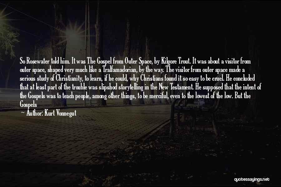 Found Somebody New Quotes By Kurt Vonnegut