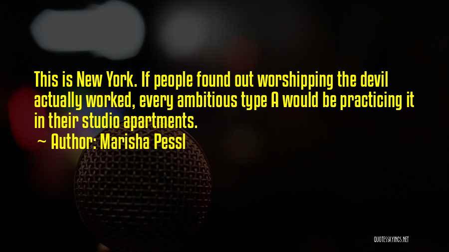 Found Somebody New Quotes By Marisha Pessl