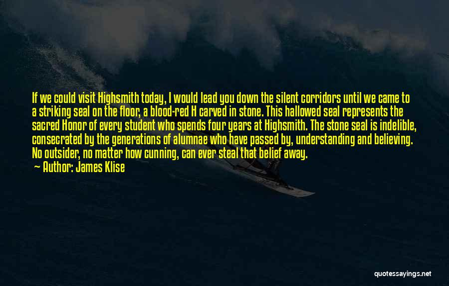 Four Generations Quotes By James Klise
