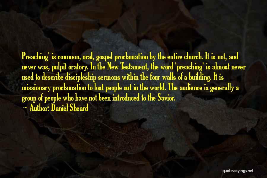 Four Walls Quotes By Daniel Sheard