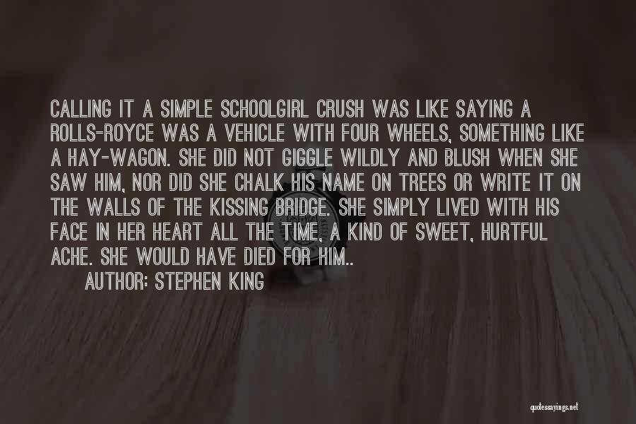 Four Walls Quotes By Stephen King