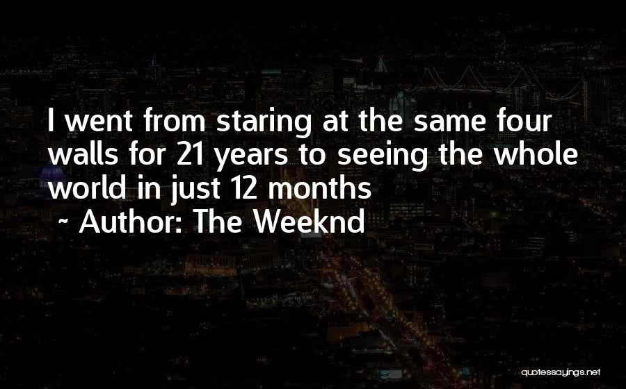 Four Walls Quotes By The Weeknd