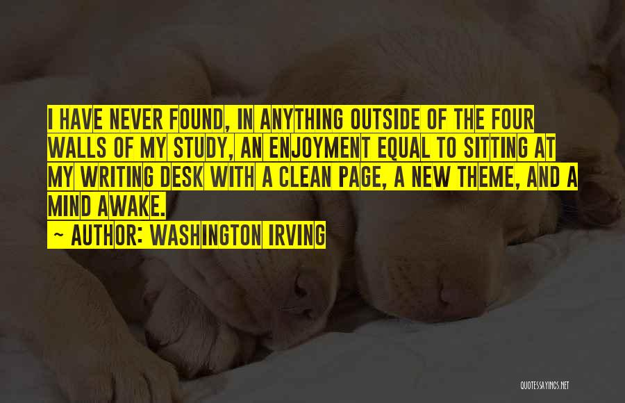 Four Walls Quotes By Washington Irving