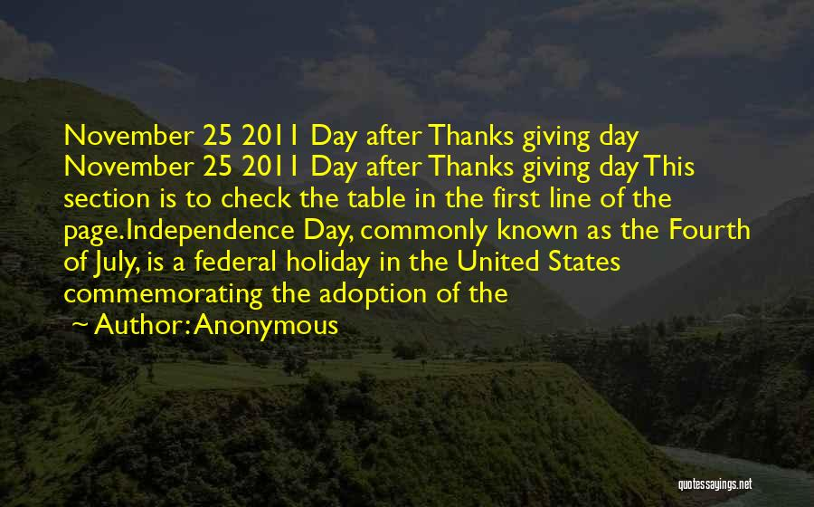 Fourth Of July Independence Day Quotes By Anonymous