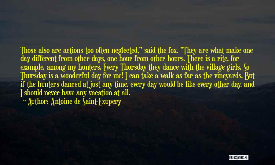 Fox Quotes By Antoine De Saint-Exupery