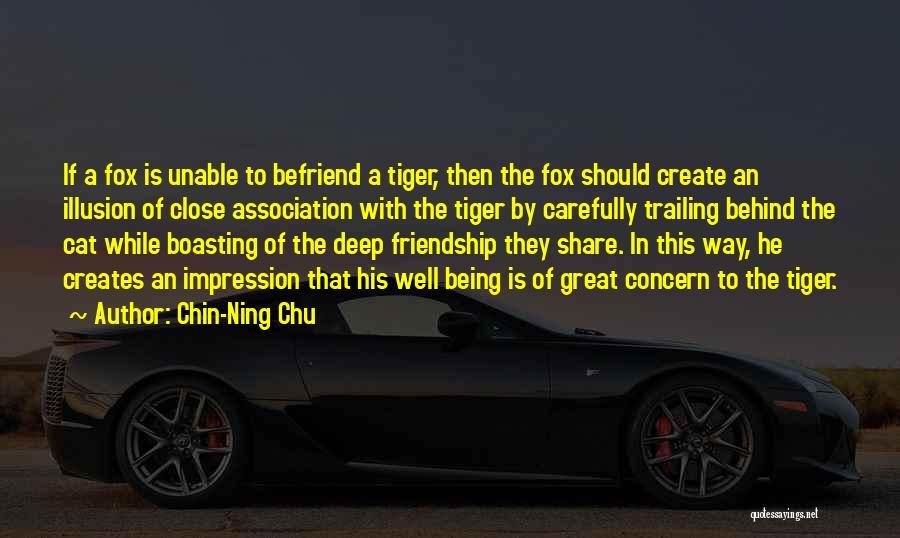 Fox Quotes By Chin-Ning Chu