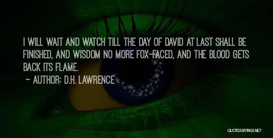 Fox Quotes By D.H. Lawrence