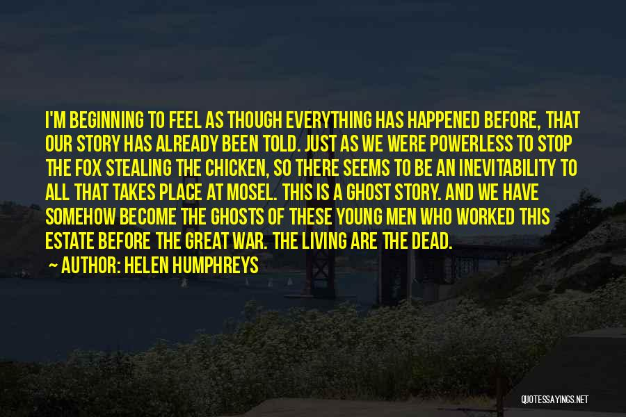 Fox Quotes By Helen Humphreys