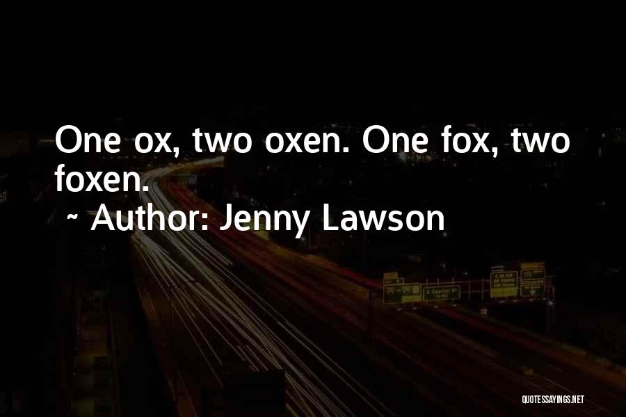 Fox Quotes By Jenny Lawson