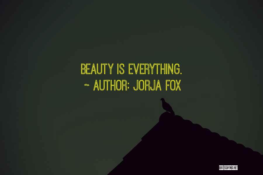 Fox Quotes By Jorja Fox