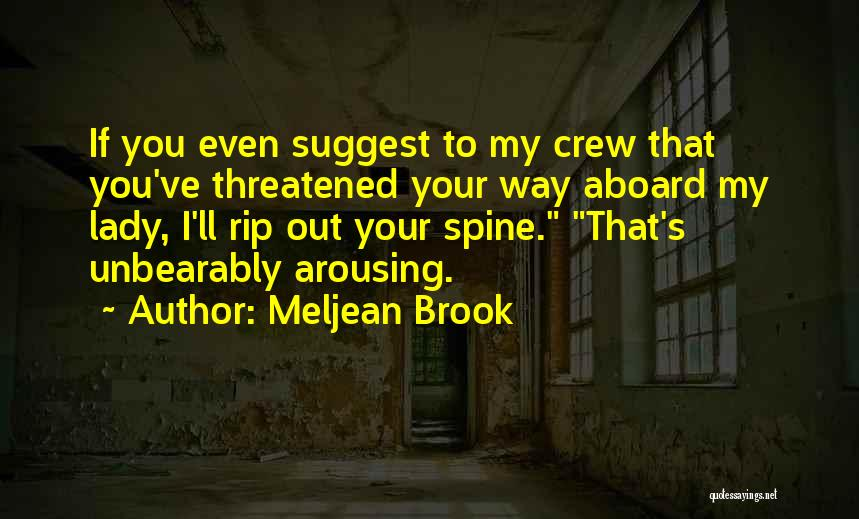 Fox Quotes By Meljean Brook