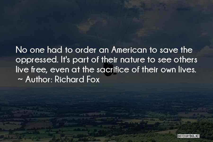 Fox Quotes By Richard Fox