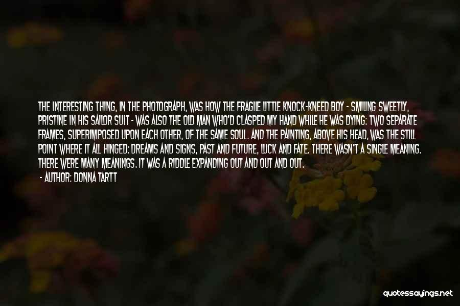 Frames Quotes By Donna Tartt