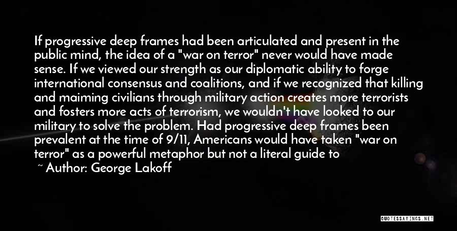 Frames Quotes By George Lakoff