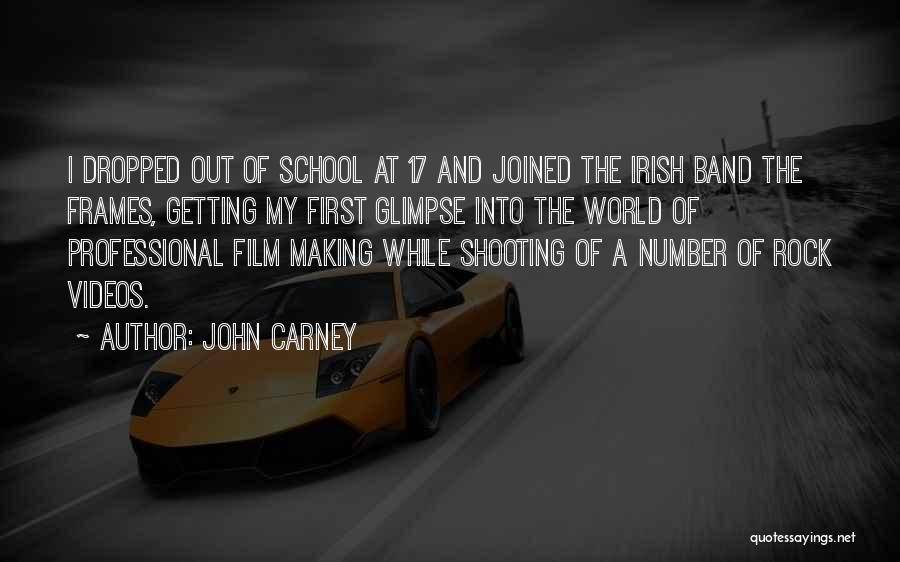 Frames Quotes By John Carney