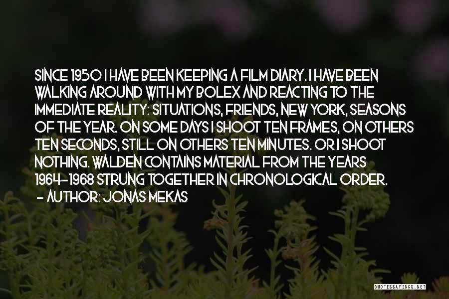 Frames Quotes By Jonas Mekas